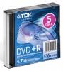 Оптический диск DVD+R TDK 4.7Гб